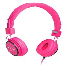 Fone de Ouvido com Microfone Headphone Fun PS2 Rosa PH088 Multilaser