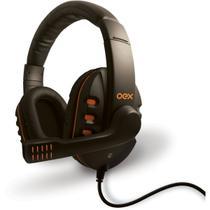 Fone De Ouvido Com Microfone Headset Action Com Volume Preto - Newex -