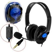 Fone de Ouvido com Microfone  Headset Gamer Ps4  KP-352 - Knup
