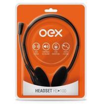 Fone de Ouvido com Microfone Headset HS100 OEX -