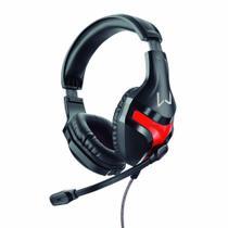 Fone de Ouvido com Microfone Multilaser PH101 Headset Gamer Warrior Harve 2xP2 para Jogos no PC -