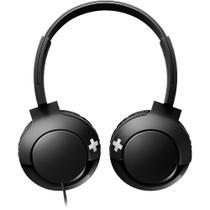 Fone De Ouvido Com Microfone Philips Bass+ Preto Shl3075bk/00 -
