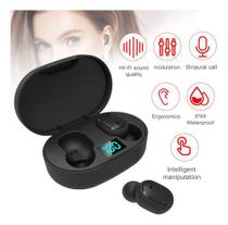 Fone de Ouvido E6S True Wireless Headset Bluetooth 5.0 Intraauricular -