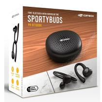 Fone de Ouvido EP-TWS-100BK Sportybuds BT 5 TWS C3 TECH - C3Tech