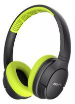 Fone de Ouvido Esportivo Bluetooth Philips TASH402LF/00 - Preto e Verde -