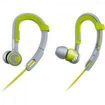 Fone de Ouvido Esportivo Gancho Ajustável SHQ3300LF/00 Verde PHILIPS -