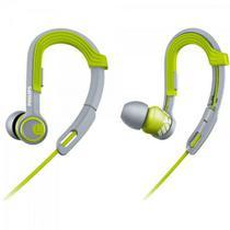 Fone de Ouvido Esportivo Gancho Ajustável SHQ3300LF/00 Verde - Philips