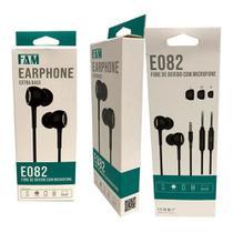 Fone de Ouvido Estéreo In-Ear FAM FCA-E082 -
