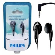 Fone De Ouvido Estéreo Philips Preto She1350/00 - Original -