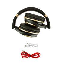 Fone De Ouvido Estéreo Sem Fio Dourado FON-8160 - Inova -