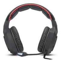Fone De Ouvido Gamer C/ Microfone Pc Ps4 Xbox P2 Usb - Knup