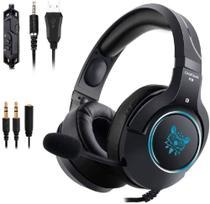 Fone De Ouvido Gamer Headset Profissional Onikuma K9 Preto -