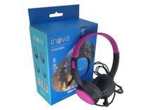 Fone De Ouvido Gamer Inova Headset Microfone Ajustável Mp3 -