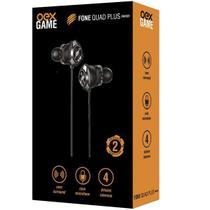 Fone de Ouvido Gamer INTRA Auricular QUAD-PLUS OEX FN501 -