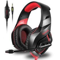 Fone de Ouvido Gamer K1B Qualidade de Áudio com Microfone e Cancelamento de Ruído - Onikuma