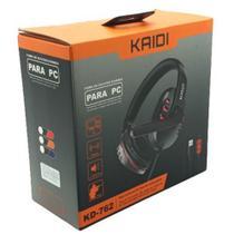 Fone de Ouvido Gamer Pc USB Headset P2 Kaidi KD-762 -