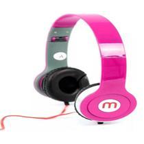 Fone De Ouvido Head Phone Best Áudio Microfone A-569 ROSA - Altomex