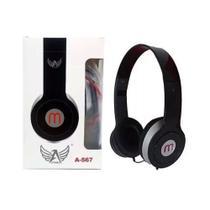 Fone De Ouvido Headphone Altomex Vermelho A-567 -