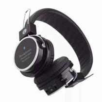 Fone de ouvido Headphone Bluetooth Micro Sd Mp3 Rádio Fm Player B05 Preto - Grasep
