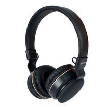 Fone de Ouvido Headphone Bluetooth P2 Micro SD FM Hoopson Preto - Mercoriental