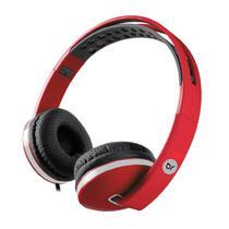 Fone de Ouvido Headphone Colors Vermelho 471 Bright -