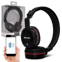 Fone de Ouvido Headphone Wireless Shutt Basic Sem Fio Bluetooth P2 SD Rádio FM MP3 Preto