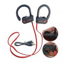 Fone de ouvido headset bluetooth esportivo sem fio esporte corrida intra auricular atende chamada co - Knup