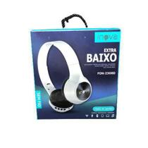 Fone De Ouvido Headset Bluetooth Inova Fon-2308D - Branco -