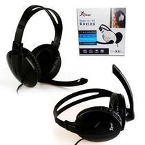 Fone de Ouvido Headset Com Microfone KP-418 Preto - Knup