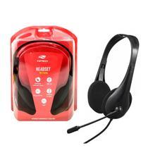 Fone De Ouvido Headset Com Microfone Usb Home Office - C3TECH