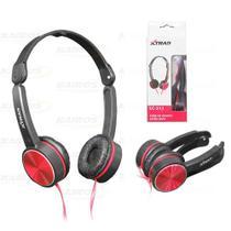 Fone de ouvido headset dobrável - Xtrad -