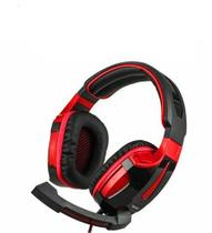 Fone De Ouvido Headset Gamer 7.1 Led Com Microfone PC PS3 PS4  Xfire Valkyrie Surround Virtual - Tecdrive