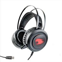 Fone de Ouvido Headset Gamer c/ Microfone e Led - USB G-FIRE -