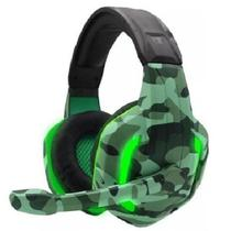Fone de Ouvido Headset Gamer Camuflado G312 Militar - Concise Fashion Style
