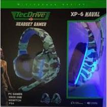 Fone de Ouvido Headset Gamer com Led (USB + 2 P2) PX-6 - TecDrive -