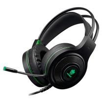 Fone De Ouvido Headset Gamer Evolut EG301GR Têmis 32 Ohms Preto/Verde -