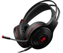 Fone de Ouvido Headset Gamer Evolut Têmis EG301 Com Luz LED -