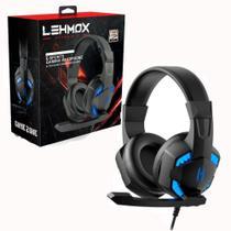 Fone De Ouvido Headset Gamer Led Plug 3.5mm Usb Lehmox Gt-f6 -