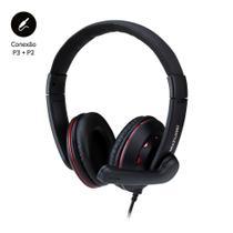 Fone De Ouvido Headset Gamer P3+P2 - PH335 - Multilaser