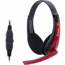 Fone de Ouvido Headset Gamer para PC (2 P2) F-6 - TecDrive -