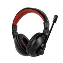 Fone de Ouvido Headset Gamer Sate Preto/Vermelho AE-265 -