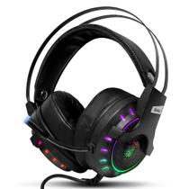 Fone De Ouvido Headset Gamer Shinka 7.1 C/ Mic Led Usb -