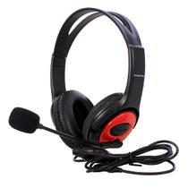 Fone De Ouvido Headset Games Com Fio E Microfone - Fmsp