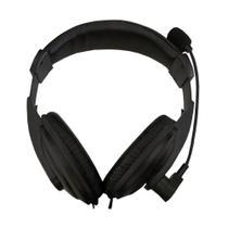 Fone de Ouvido Headset K-MEX AR-S7500 Microfone S/ Logo Preto - Gna