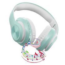 Fone De Ouvido Headset Sem Fio Dobravel Bluetooth 5.0 Azul - Concise Fashion Style