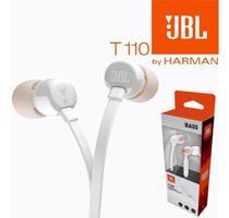 Fone De Ouvido In Ear Branco Jbl T110 -