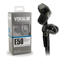 Fone de Ouvido IN EAR Profissional E50 PRO Isolamento 37dB VOKAL -