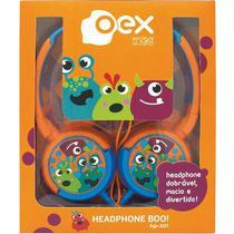 Fone de Ouvido Infantil Fones Giratorios OEX KIDS Boo! HP301 - 85DB -