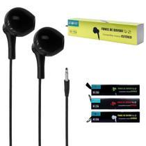 Fone de Ouvido Intra-Auricular com Microfone Inova - FON-2295D -