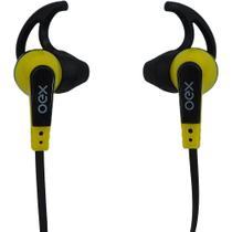 Fone de ouvido intra auricular esportivo oex fn206 amarelo -